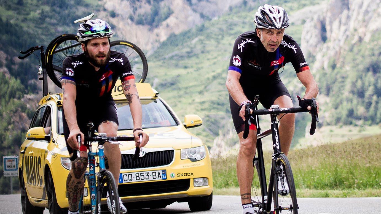 Evian Nice, les Alpes à pignon fixe en 2014