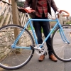 Blue Folding Bike, un fixie pliable et transportable partout