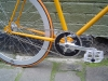 Des\' Fixie orange et chrome de Melbourne