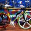 Fixie Rainbow de Novantadue par Marco Bolletta