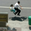 Floating Bike par le photographe Zhao Huasen