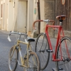 Poltom, rénovation de vélos, transformés en fixies