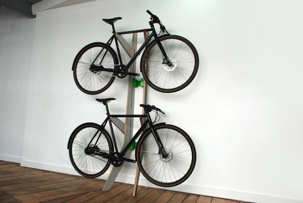 Quarterre products invite des mani res de ranger son v lo fixie singlespeed infos v lo - Support velo appartement ...