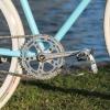 Un vélo sortie des poubelles transformé en fixie !