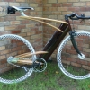 Wood fixed bike de Ken Stolpmann